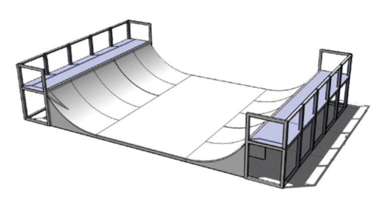 Nineyards Skatepark Verhuur Miniramp Skateboard Evenement