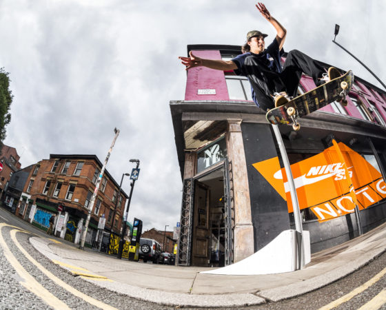 Nike SB Orange Label Manchester by Nine yards