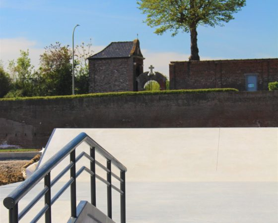 Skatepark Menen by Nine yards