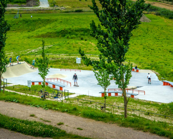 Skatepark Middelharnis by Nine yards