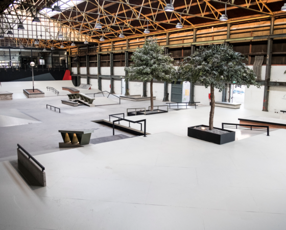 Pier 15 Skatepark by Nine yards